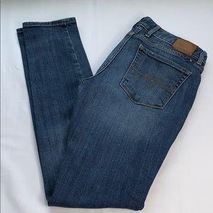 Lucky Brand Women's Lolita Skinny Blue Jeans